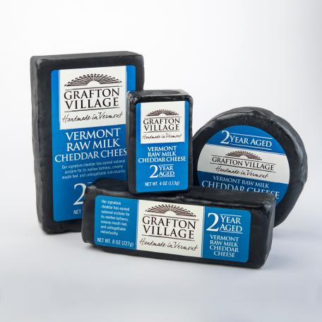 2 Year Aged Cheddar – Grafton Village Cheese